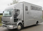 2007 Model 56 Renault Midlam 7.5 ton Professional Transport truck. Stalled for 5 with smart changing area..