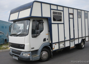 2003 DAF LF C & R Coach built body. Stalled for 3 with smart living area.. Mot Sep 2020