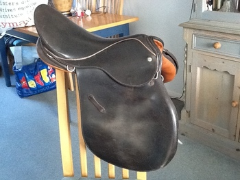 "Lovett and Rickett Saddle - 8"" wide"