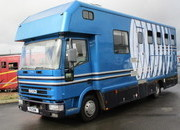 10 ton Iveco Eurocargo Coach built by Maudsley Horseboxes. Stalled for 4 with smart luxury living.. Huge payload