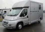 2013 Citroen Relay Select Pro. New Build. 3.5 ton. Stalled for 2 rear facing.. 73,347 Miles