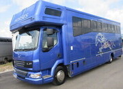 2007 DAF LF 12 Ton Coach built by Prestige Horseboxes. Stalled for 4 with smart luxury living.. Beautiful Horsebox