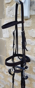 Full size Jeffries Cavesson Bridle